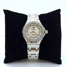 TechnoMarine TechnoLady Diamond face & Bezel Mother of Pearl Steel +6 bands 26mm