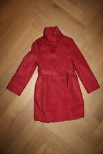 Monnalisa de ensueño nuevos abrigo en dkl. rojo 104 Monnalisa transitorio abrigo