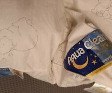 ? Aqua - Clean Baby Bettdecke? Kissen Daunen 80x80 Weich und flauschig  NP 49 ?