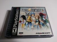 Final Fantasy IX 9 Ps1 4 Disc Pre Owned Tested Working Broken Case