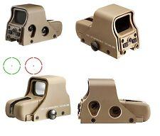 MIRINO SOFTAIR OLOGRAFICO RED/GREEN DOT TIPO 551 REAR AO5017 DARK EARTH - AIM-O