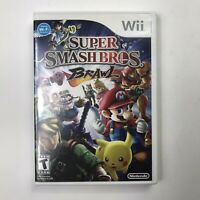 Super Smash Bros. Brawl (Nintendo Wii, 2008) Complete with Manual Fully Tested