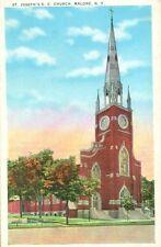 Malone, NY St. Joseph's R.C. Church