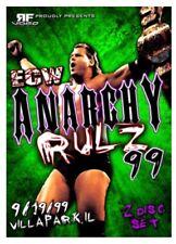 ECW ANARCHY RULZ 1999 DVD Extreme Championship Raven Sabu Tazz RVD wrestling