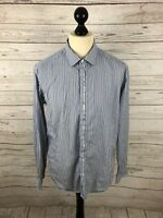 TED BAKER Shirt - Size 5 XL - Striped - Great Condition - Men's