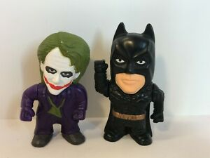 "GMI Joker & Batman figures General Mills Cereal Dark Knight 2.5"" B  K1"