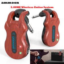 Wireless Sender Transmitter Empfänger Receiver mit USB Kabel für E-Gitarren B7D2