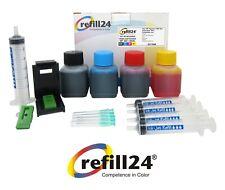 Kit Recarga para Cartuchos de Tinta HP 302, 302 XL Negro y Color + 200 ML Tinta