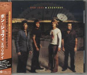Bon Jovi – Everyday CD MAXI SINGLE JAPAN + obi