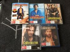 Californication 4 DVD Box Sets  & 1 Blu-ray Box Set Season 1-5 Brand New!!!