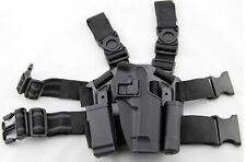 AIRSOFT MILITARY TACTICAL CQC DROP LEG RIGHT HOLSTER FOR M92 BERETT STYLE PISTOL