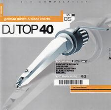 DJ TOP 40 - VOLUME 5 - GERMAN DANCE & DISCO CHARTS / 2 CD-SET - TOP-ZUSTAND