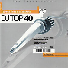 DJ TOP 40 VOL. 05 - GERMAN DANCE & DISCO CHARTS / 2 CD-SET - NEUWERTIG
