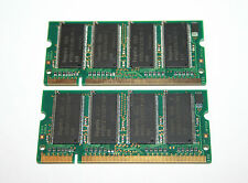 1GB 2x 512MB ddr1hynix Laptop RAM 400MHZ CL2, 5 PC3200S NEW