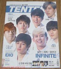 TENTEN 10TEN INFINITE EXO VIXX LEE JONG SUK IU JIYEON MAGAZINE 2014 JUNE NEW