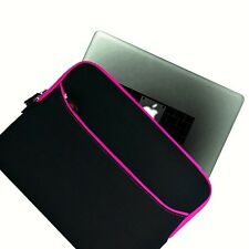 "Pink 11.6"" 12.1"" 12.5"" 13"" soft Sleeve Case for Ultrabooks/ Laptops / Notebooks"