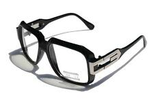 Gloss black Clear Lens Hipster Retro Sun Glasses /w Metal Accents Square