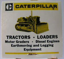 * Caterpillar Crawler & Bulldozer Matchbook Carolina Tractor & Equipment Co. NC