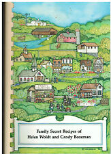 *RICHARDSON TX 1992 FAMILY SECRET RECIPES COOK BOOK *HELEN WOLDT & CANDY BOZEMAN