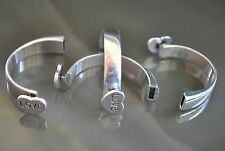 ¡¡¡OFERTA 2x1!!! 2 Medias pulseras Zamak gancho abalorios bisuteria (MEP-19)