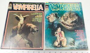 VAMPIRELLA # 7 1970  FRAZETTA #29 DEC 1973 TORRES MY PERSONAL COLLECTION