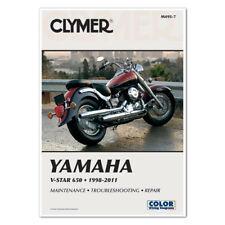 CLYMER SERVICE MANUAL YAMAHA V-STAR XVS650 CLASSIC, CUSTOM & SILVERADO 1998-2011