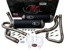 Auspuff Turbokit Double Edelstahl KTM DUKE 640 LC4 02 03 04 05 06 Auspuffanlage