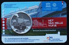 Nederland 2015 - 5 euro Van Nelle vijfje BU in Coincard