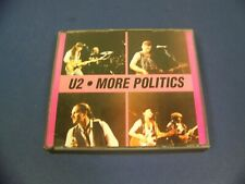 U2 More Politics VG+ Very Rare Unofficial 2 Cd Set