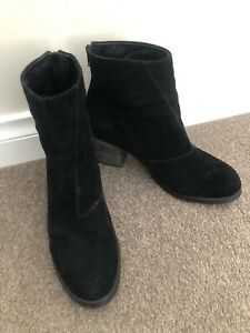 TONY BIANCO SUEDE LEATHER ANKLE BOOTS Sz-9.5
