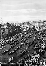 BG7112 venezia regate historique dans le grand canal boat  italy  CPSM 15x10.5cm
