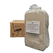 25 Lbs B-Mix 5 Wc401 - Best Mix Bmix Mid Fire Pottery Clay Bmix Cream Color