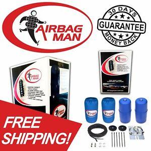 Airbag Man Coil Spring Helper for NISSAN NAVARA D23 DUAL CAB 4X2 4X4 15-20 CR513