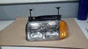Driver Left Headlight Composite GMC Fits 94-97 S10/S15/SONOMA 324430