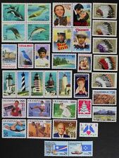 US 1990 Commemorative Year Set collection of 36 stamps Mint NH