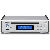 TEAC CD Player USB PD-301-S Silver Fast Shipping NEW