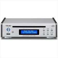 TEAC CD Player USB PD-301-S Silver NEW