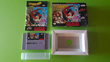 SPIDER-MAN X-MEN Arcade's Revenge / complet en TBE / SUPER NINTENDO / US USA