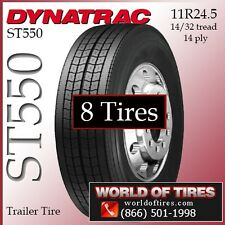 semi trailer tires 24.5 tires $338 Each ST550 FREE SHIPPING