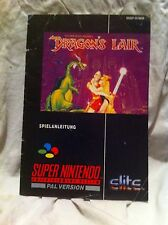 Dragon's L'air Notice ( Super Nintendo )