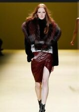 J Mendel Fur Coat Fox Mink Runway Piece Size 6 Incredible $30,000