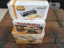 Marcato Atlas 150 Pasta Maker Machine W/All Attachments Mint Free Shipping