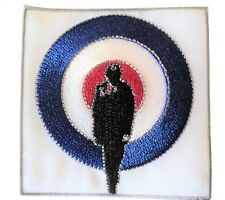 Quadrophenia Jimmy Target Roundel Scooterist Iron/ Sew On Embroidered MODS Patch