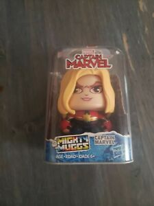 Mighty Muggs Captain Marvel - Different Faces