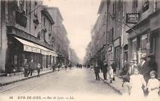 CPA 42 RIVE DE GIER RUE DE LYON