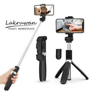 Extendable Remote Selfie Stick Desktop Desk Stand Holder Tripod for Cell Phone