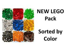 NEW 💥100/200/300pc Lego Bulk Lot Pack, Sorted by Color, Brick Block Plate Slope