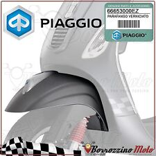 PARAFANGO ANTERIORE GRIGIO OPACO 742B ORIGINALE PIAGGIO VESPA S 4T-4V 50 2010