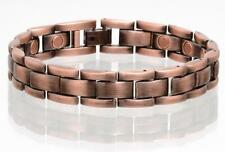 NEW COPPER MAGNETIC LINK BRACELET mens womens STYLE#LH  jewelry health Energy