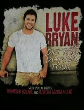 LARGE - Luke Bryan t shirt: 2013 tour dirt road diaries florida georgia line